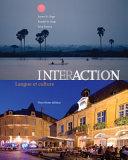 Student Activities Manual  cahier d activites orales et ecrites  for St  Onge St  Onge Powers  Interaction  Langue et culture Book
