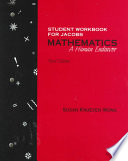Mathematics: A Human Endeavor Student Workbook