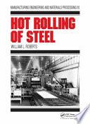 Hot Rolling of Steel Pdf/ePub eBook