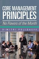 Core Management Principles