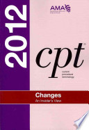 CPT Changes 2012