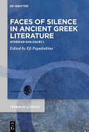 Pdf Faces of Silence in Ancient Greek Literature