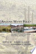 Arizona Water Policy