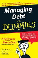 Managing Debt For Dummies [Pdf/ePub] eBook