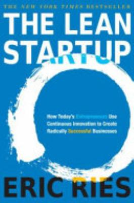 Book cover of 'The Lean Startup' by Eric Ries