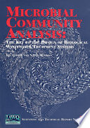 Microbial Community Analysis Book PDF