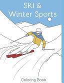 Ski   Winter Sports   Coloring Book