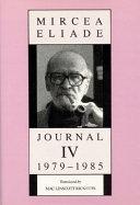 Journal IV, 1979-1985