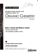 Student study guide and problems book for Organic chemistry