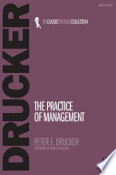 The Practice of Management Book Cover
