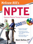 McGraw Hill s NPTE  National Physical Therapy Examination