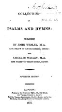 A Collection of Psalms and Hymns     Fifteenth edition