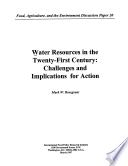 Water Resources In The Twenty First Century