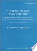 The Voice Of God On Mount Sinai