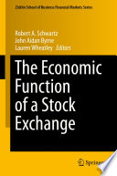 The Economic Function of a Stock Exchange Book