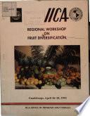 Regional Workshop on Fruit Diversification Book
