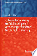 Software Engineering  Artificial Intelligence  Networking and Parallel Distributed Computing