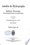 Annalen der Hydrographie und Maritimen Meteorologie