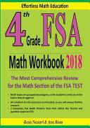 4th Grade FSA Math Workbook 2018