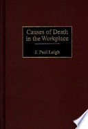 Causes of Death in the Workplace