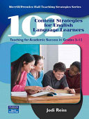 102 content strategies for English language learners