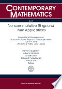 Noncommutative Rings and Their Applications