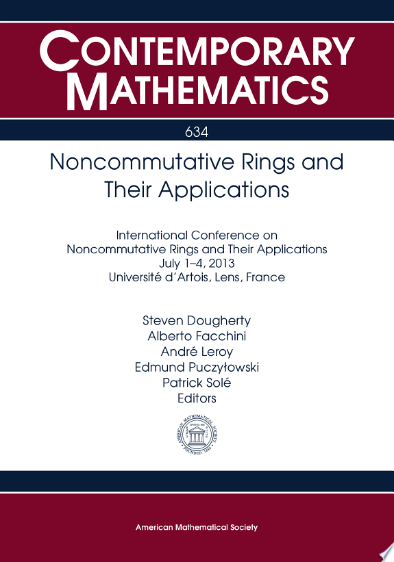 Noncommutative Rings and Their Appl