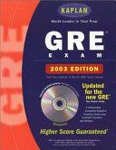 Kaplan Gre Exam 2003