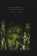 Human Rights in Ancient Rome Pdf/ePub eBook