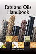 Fats and Oils Handbook (Nahrungsfette und Öle)