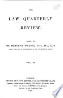 The Law Quarterly Review