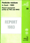 Pesticide Residues in Food   1983