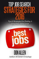 Top Job Search Strategies for 2016