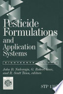 Pesticide Formulations and Application Systems