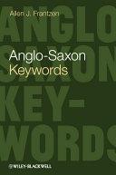 Anglo-Saxon Keywords