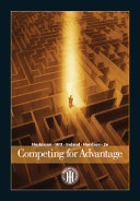 Cover of Competing for Advantage
