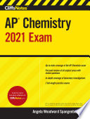 CliffsNotes AP Chemistry 2021 Exam