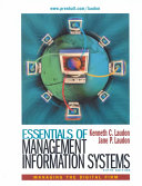 Essentials of Management Information Systems Book