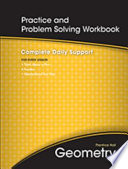 Practice and Problem Solving Workbook