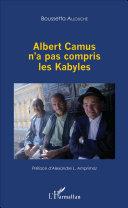Pdf Albert Camus n'a pas compris les Kabyles Telecharger