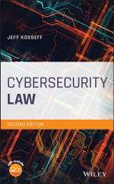 Pdf Cybersecurity Law