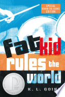 Fat Kid Rules the World K. L. Going Cover