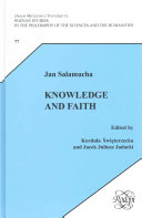 Pdf Knowledge and Faith Telecharger