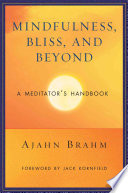 Mindfulness Bliss And Beyond