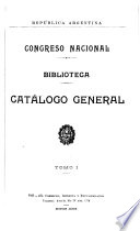 Catálogo alfabético por autores, países ó títulos