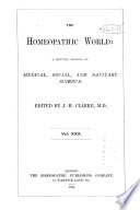 The Homoeopathic World