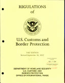 Regulations of U S  Customs and Border Protection