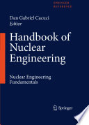 Handbook Of Nuclear Engineering Book PDF