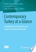 Contemporary Turkey at a Glance