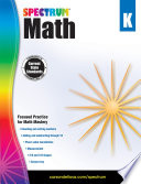 Spectrum Math Workbook  Grade K